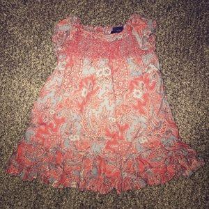 Ralph Lauren paisley dress & Bloomers 9 Months